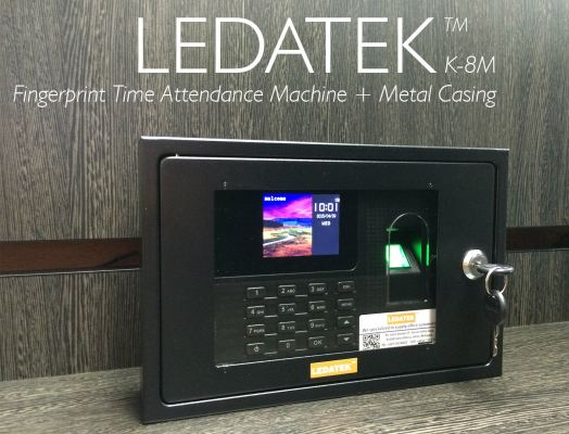 LEDATEK K-8M Fingerprint Time Attendance Machine