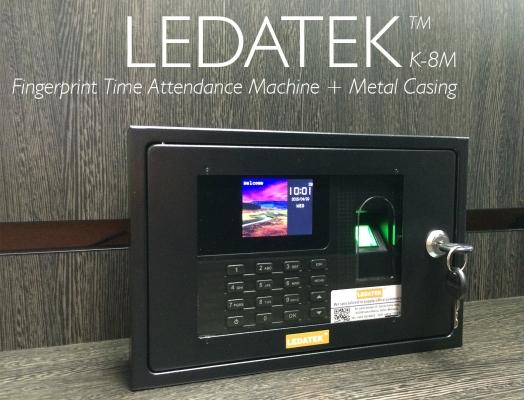 LEDATEK K-8M Fingerprint Time Attendance Machine