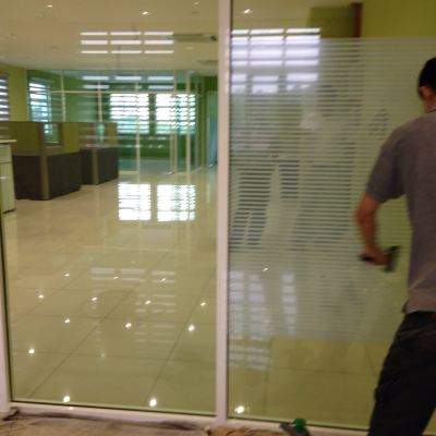 Glass door Tinting in KL
