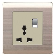16A Universal Switched Socket