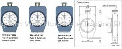 Durometers for hardness test of Rubber Rubber Hardness Tester Teclock