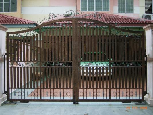 Mild Steel Gate With Mild Steel Hollow 04