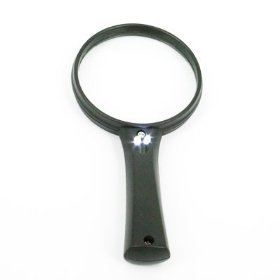 Magnifier Glasses with Light