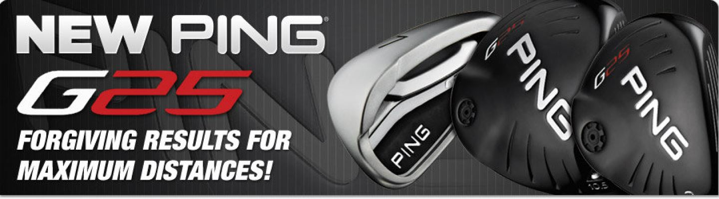 Ping G25 Complete Set Golf Clubs