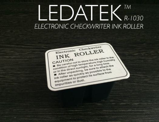 LEDATEK R-1030 CHEQUE WRITER INK ROLLER