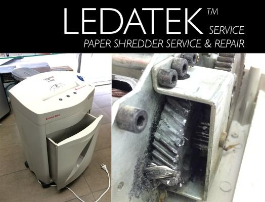 LEDATEK Olympia S-1500 Paper Shredder Service