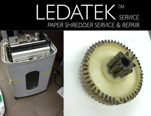 LEDATEK Biosystem Platinum II Paper Shredder Repair & Service
