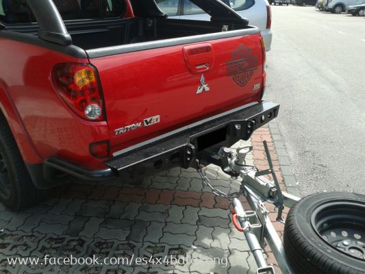 REAR BUMPER FOR HILUX,FORD RANGER, TRITON, D MAX,AND ALL 4X4 CAR