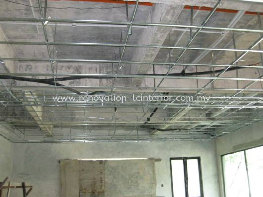 CHERAS FACTORY PLASTER CEILING METAL STRUCTURE