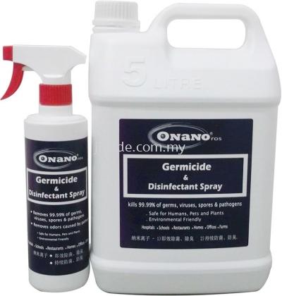 ONANO.ros Germicide & Disinfectant Spray (5Ltr)