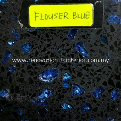 CHERAS FLOUSER BLUE QUARTZ STONE
