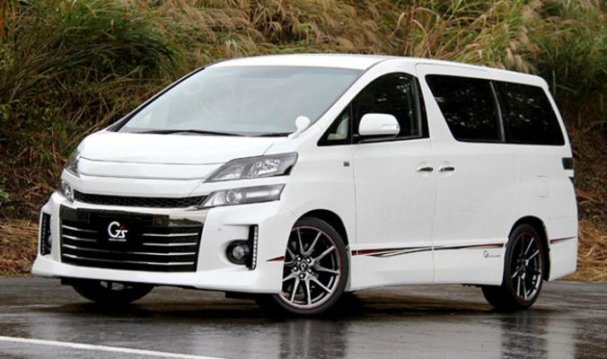 Toyota Vellfire GS sport bodykit conversion