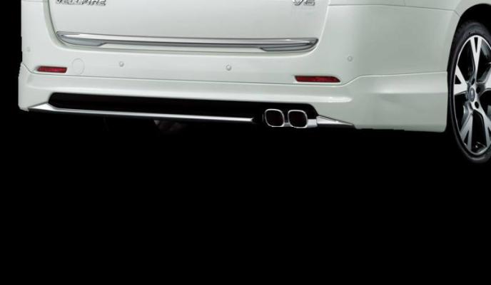 Toyota Vellfire modellista rear skirt