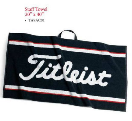 "Titleist Staff Towel 20"" X 40"" TA9AC01"