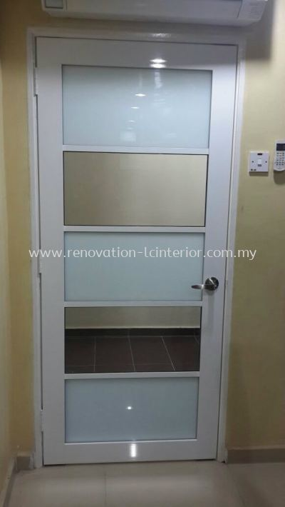 BANDAR BARU SUNGAI LONG OFFICE GLASS DOOR