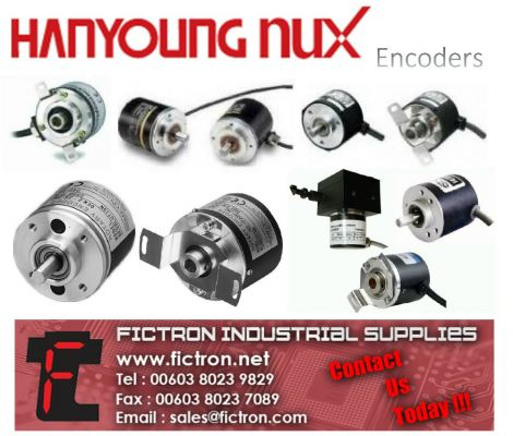 HE40B6-500-6-L-5 HANYOUNG NUX Encoder Supply Malaysia Singapore Thailand Indonesia Europe & USA