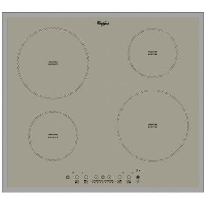 4 Zone Induction Hob in Silver ACM 804/ BA/ S