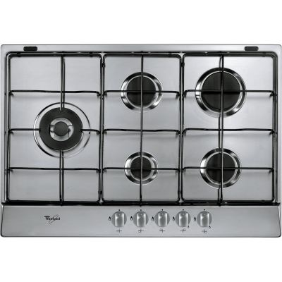 5 Burner Gas Hob in Stainless Steel AKR 317/ IX