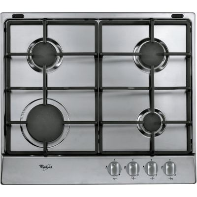 4 Burner Gas Hob in Stainless Steel AKR 311/ IX