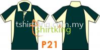 P21 Custom Made T-Shirt Pattern