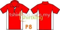 P8 Custom Made T-Shirt Pattern
