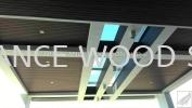 EW3001 (WPC Composite - Chestnut)  Composite Ceiling WPC COMPOSITE