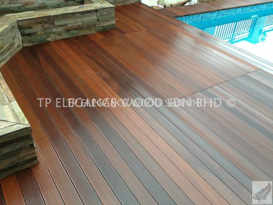 Merbau Wood Decking (Outdoor)