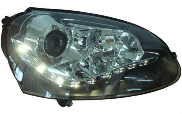 Volkswagen Golf mk5 Led head lamp