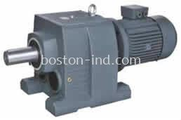 HELICAL GEAR MOTOR FOOT MOUNT
