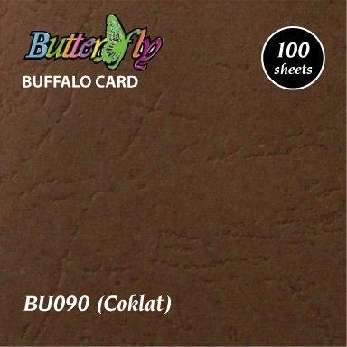 A4 Buffalo Card - Coklat