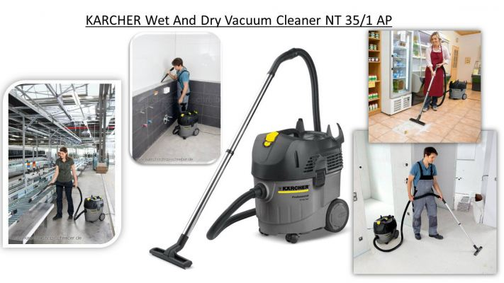 KARCHER Wet And Dry Vacuum Cleaner