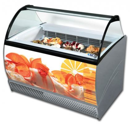 Gelato & Ice-Cream Display Cabinet ISA Isabella Series