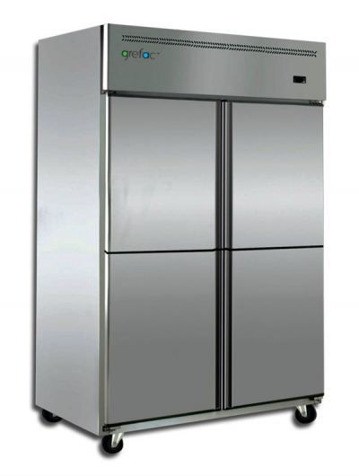 Stainless Steel Plug-In Freezer 4 Doors
