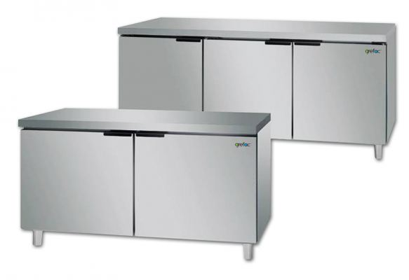 Under Counter Stainless Steel Workbench Chiller