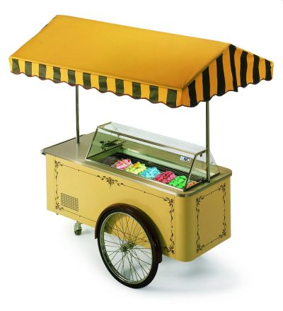 Gelato & Ice Cream Cart ISA IL Carrettino Series