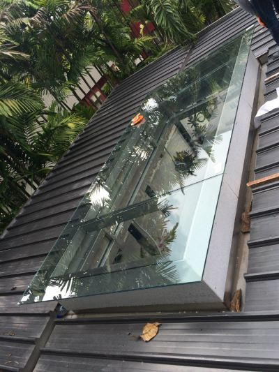 Aluminium Roof Glass Window