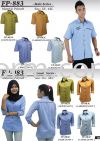 FP-983 SERIES LADIES 3/4 SLEEVE CORPORATE WEAR