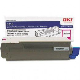 OKI C610 Magenta Toner (44315310)