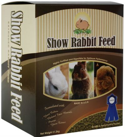 Beh & Yo Show Rabbit Feed (1.2kg)