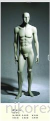 13246-CFWM-265-MALE-MANNEQUIN-GREEN Male Abstract Mannequin MANNEQUIN