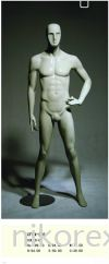 13250-CFWM-269-MALE-MANNEQUIN-GREEN Male Abstract Mannequin MANNEQUIN