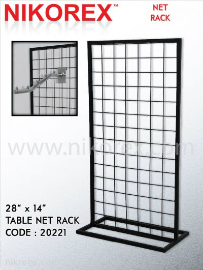 "20221-28""X14"" T-TABLE NET RACK"