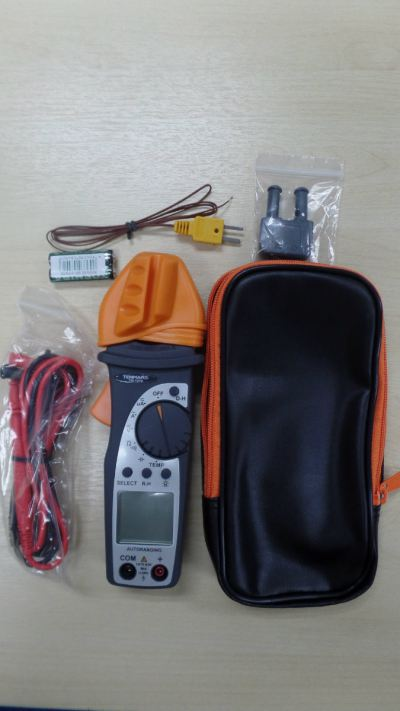TENMARS TM-1016 400A AUTORANGING AC DIGITAL CLAMP-ON METER