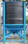 PE Conical Base Tank Model DVM Series DVM PE Rotational Molded Storage Tank