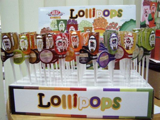 Colourful Maltose Lollipop (10 pieces)