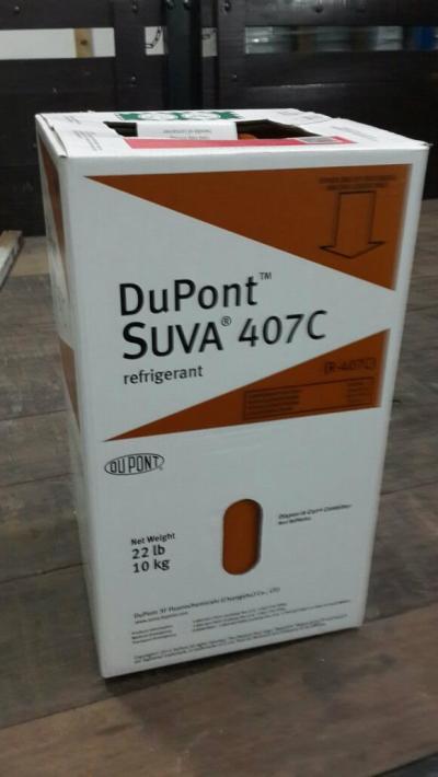 SUVA 407C (DuPont) Refrigerant Gas (10kg) (CHINA)