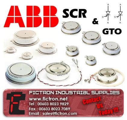 5STP18F1600 ABB SCR Phase Control Thyristor Supply Malaysia Singapore Thailand Indonesia Europe & USA