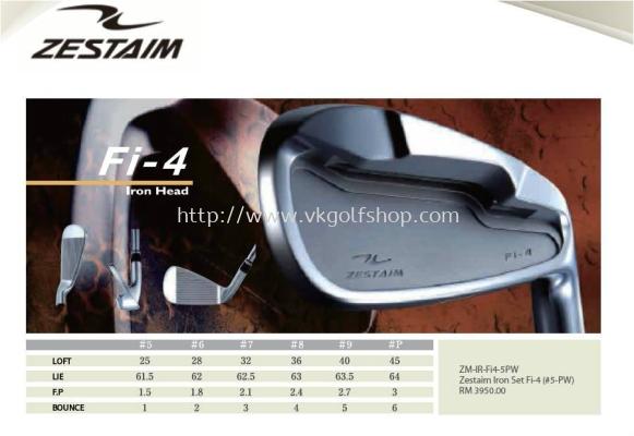 Zestaim Iron Set Fi-4