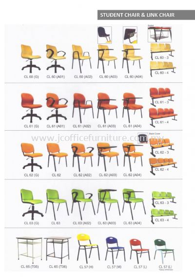 Student Chair & Link Chair