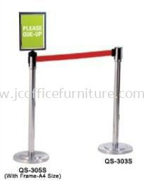 Stainless Q-Up Stand